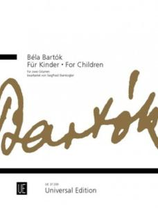 BARTOK BELA - FOR CHILDREN - DEUX GUITARES