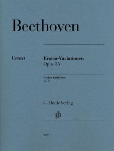 BEETHOVEN - VARIATIONS EROICA OPUS 35 --- PIANO