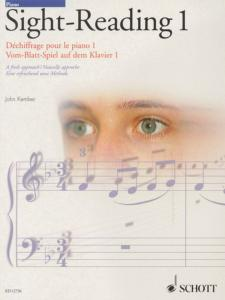 KEMBER JOHN - SIGHT-READING (DECHIFFRAGE) VOL.1 - PIANO
