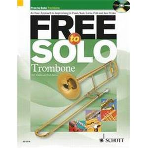 HUGUES / HARVEY - FREE TO SOLO TROMBONE + CD