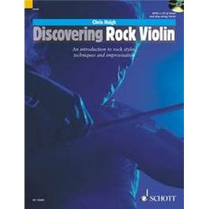 HAIGH CHRIS - DISCOVERING ROCK VIOLIN + CD VIOLON