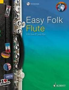 EASY FOLK FLUTE (52 PIECES TRADITIONNELLES) +CD - FLUTE TRAVERSIERE