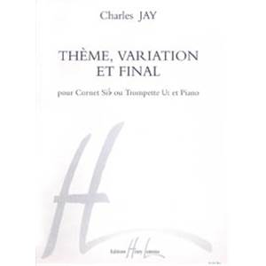 JAY CHARLES - THEME VARIATION ET FINAL - TROMPETTE ET PIANO