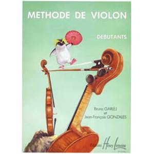 GARLEJ B/GONZALES JF - METHODE DE VIOLON VOL.1