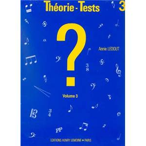 LEDOUT ANNIE - THEORIE TESTS VOL.3