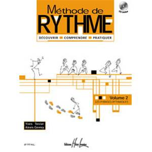 TESLAR/GEVRAY - METHODE DE RYTHME VOL.2 + CD - FORMATION MUSICALE