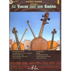 ALLERME JEAN MARC - LE VIOLON FAIT SON CINEMA VOL.1 + CD