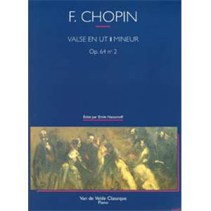 FREDERIC CHOPIN - VALSE EN DO# MIN. OP.64 N°2 - PIANO