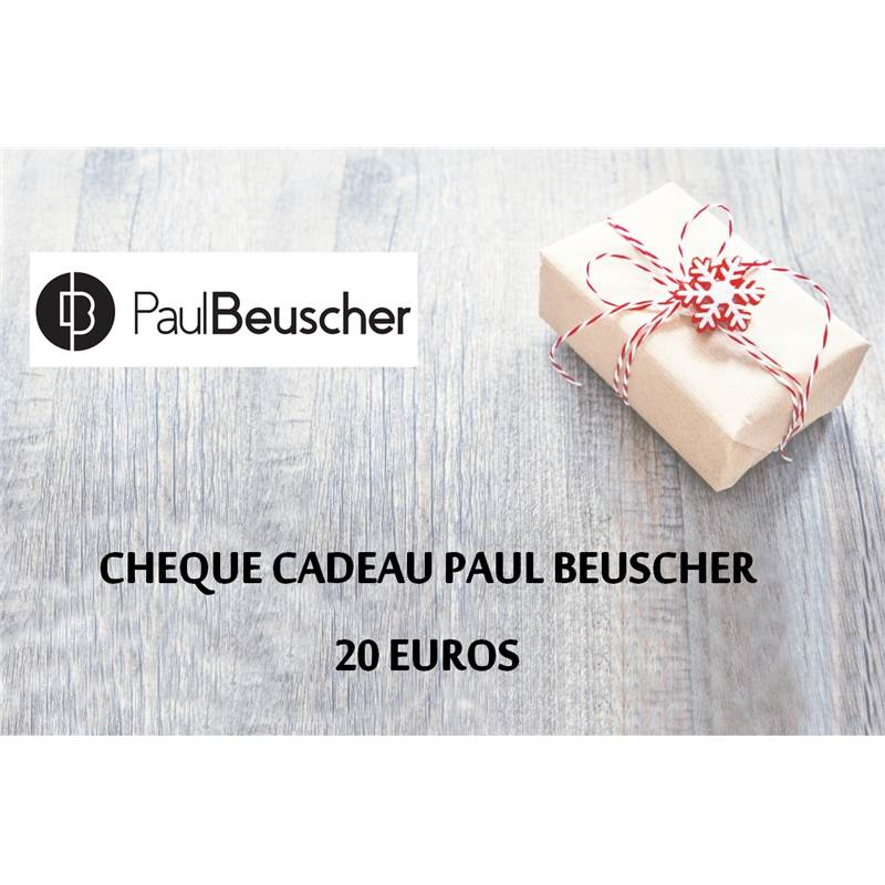 cheque cadeau paul beuscher 20 euros paul. Black Bedroom Furniture Sets. Home Design Ideas