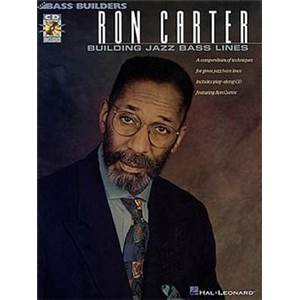 CARTER RON - BASS BUILDERS BUILDING JAZZ BASS LINES + CD