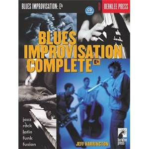 HARRINGTON JEFF - BERKLEE BLUES IMPROVISATION EB VERSION + CD