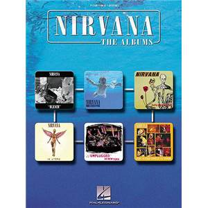 NIRVANA - THE ALBUMS 52 TITRES P/V/G