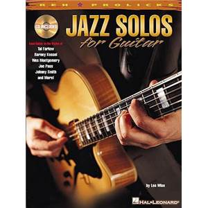 WISE LES - JAZZ SOLOS FOR GUITAR REH + CD