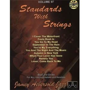 COMPILATION - AEBERSOLD 097 STANDARDS WITH STRINGS + CD