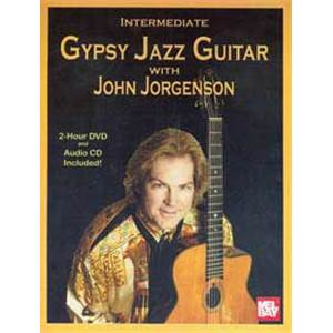 JORGENSON JOHN - INTERMEDIATE GYPSY JAZZ GUITAR + DVD + CD