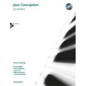 SNIDERO JIM - JAZZ CONCEPTION PIANO COMPING + CD