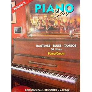 COMPILATION - PIANO BAR VOL.3 RAGTIMES,BLUES, TANGOS