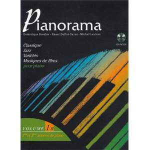 COMPILATION - PIANORAMA VOL.1B + CD