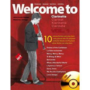 COMPILATION - WELCOME TO CLARINETTE VOL.1 + CD