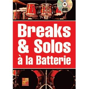 MAUGAIN MANU - BREAKS ET SOLOS BATTERIE + CD