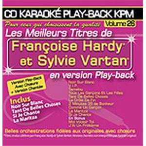 HARDY F. / VARTAN S. - CD KARAOKE VOL.26 AVEC CHOEUR + VERSIONS CHANTEES