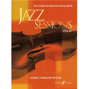 COMPILATION - JAZZ SESSIONS 10 JAZZ STANDARDS VIOLON+ CD