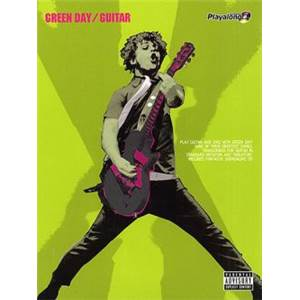 GREEN DAY - AUTHENTIC GUITAR PLAY ALONG + CD
