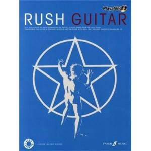 RUSH - AUTHENTIC PLAY ALONG GUITAR + CD