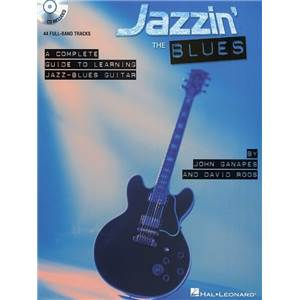 ROOS DAVID - JAZZIN THE BLUES COMPLETE GUIDE TO LEARNING THE JAZZ BLUES AT THE GUITAR TAB. + CD
