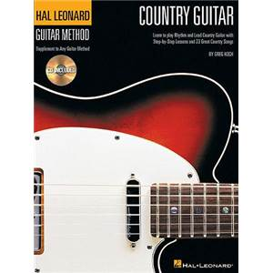 KOCH GREG - GUITAR METHOD: COUNTRY GUITAR + CD