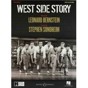 BERNSTEIN LEONARD - WEST SIDE STORY SELECTION - VOIX ET PIANO