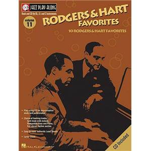 RODGERS / HART - JAZZ PLAY ALONG VOL.011 + CD