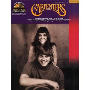 CARPENTERS THE - PIANO PLAY ALONG VOL.031 + CD