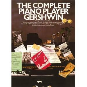 GERSHWIN GEORGE - THE COMPLETE PIANO PLAYER