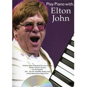 JOHN ELTON - PLAY PIANO WITH... + CD