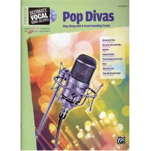 COMPILATION - ULTIMATE VOCAL VOL.9 POP DIVAS 8 TRACKS FEMALE + CD