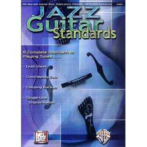 COMPILATION - JAZZ GUITAR STANDARDS COMPLETE APPROACH TAB. + CD