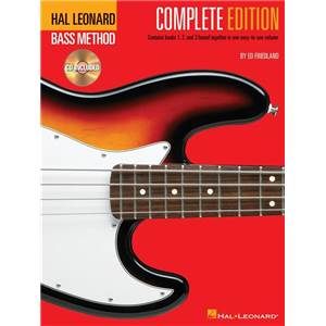 FRIEDLAND ED - BASS METHOD COMPLETE EDITION + 3CD