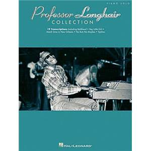 PROFESSOR LONGHAIR - COLLECTION PIANO SOLO 19 TRANSCRIPTIONS