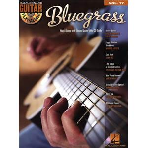 COMPILATION - GUITAR PLAY ALONG VOL.077 BLUEGRASS + CD