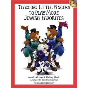COMPILATION - TEACHING LITTLE FINGERS TO PLAY MORE JEWISH FAVORITES + CD
