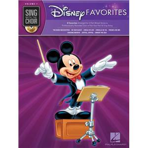 COMPILATION - SING WITH THE CHOIR VOL.07 DISNEY FAVORITES + CD