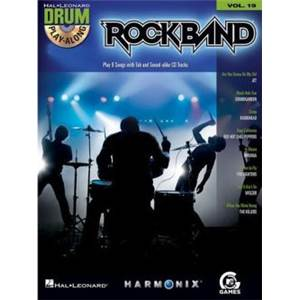 COMPILATION - DRUM PLAY ALONG ROCK BAND VOL.19 + CD