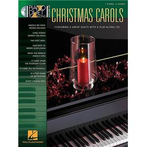 COMPILATION - PIANO DUET PLAY ALONG VOL.24 CHRISTMAS CAROLS + CD