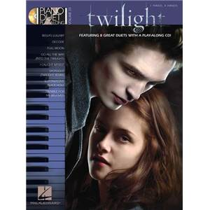 COMPILATION - PIANO DUET PLAY ALONG VOL.33 TWILIGHT B.O. FOR TWO + CD