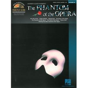 WEBBER ANDREW LLOYD - PIANO PLAY ALONG VOL.083 PHANTOM OF THE OPERA + CD