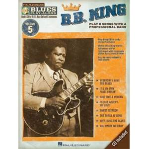 KING B.B. - BLUES PLAY ALONG VOL.5 + CD