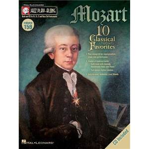 MOZART W.A. - JAZZ PLAY ALONG VOL.159 MOZART CLASSICAL FAVORITES + CD