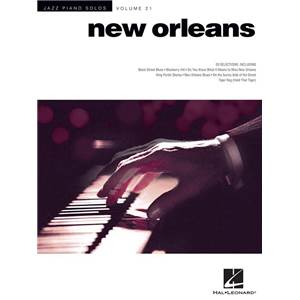 COMPILATION - JAZZ PIANO SOLO VOL.21 : NEW ORLEANS