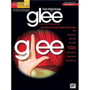GLEE - PRO VOCAL FOR WOMEN AND MEN SINGERS VOL.10 EVEN MORE SONGS + CD